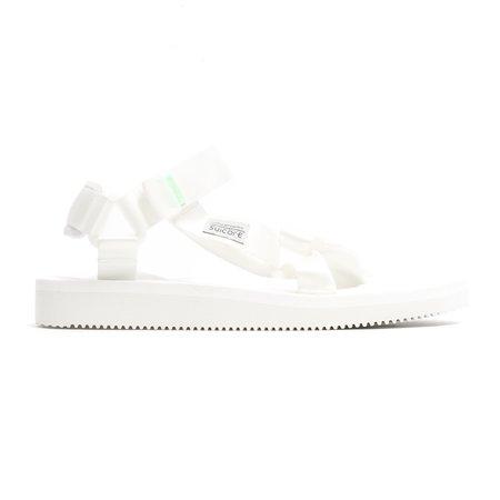 Suicoke DEPA-CAB Sandal - White