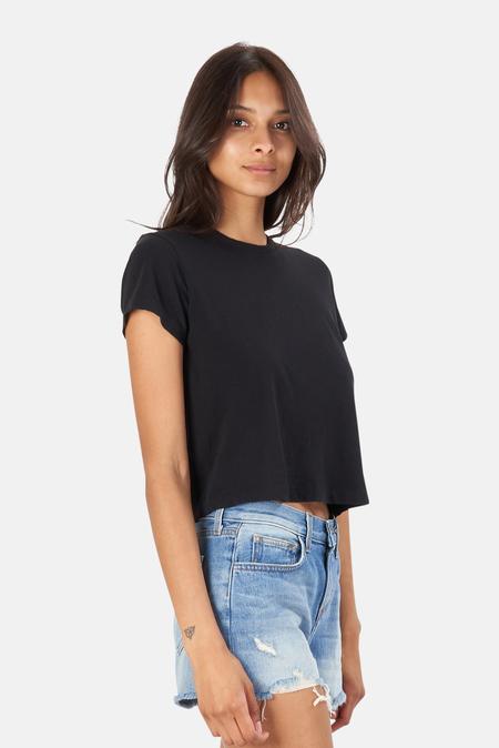 RE/DONE 1950s Boxy T-Shirt - Black