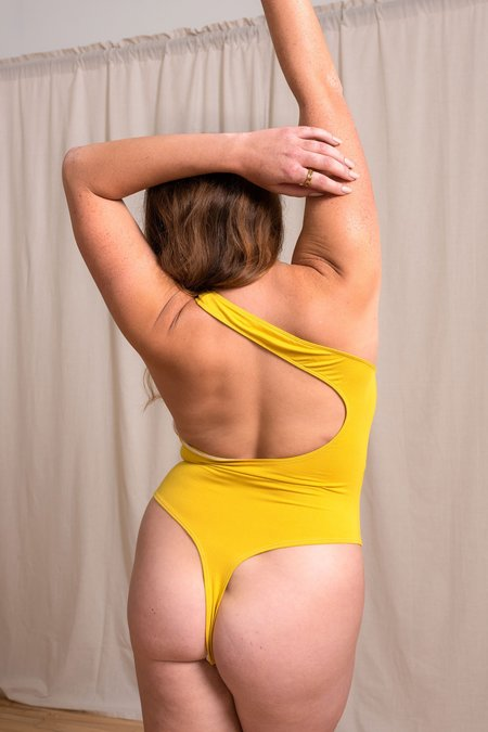 Mary Young Del Bodysuit -  Citrine