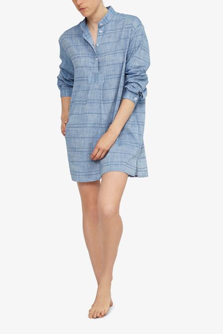 The Sleep Shirt Short Sleep Shirt - Chain Stitch