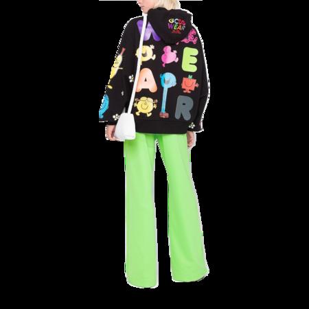 GCDS Mr. Messy Hoodie Sweatshirt - Black