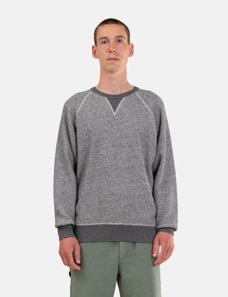 Norse Projects Kristian Sportswear Sweatshirt - Dark Grey Melange