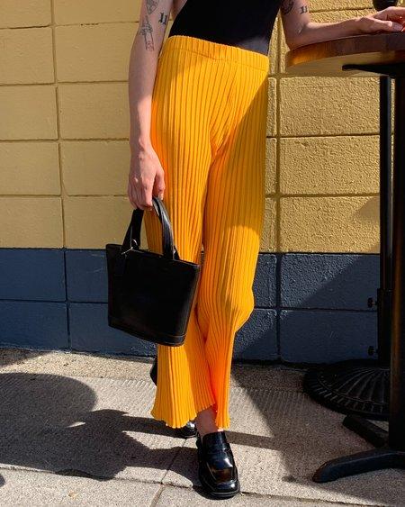 Simon Miller Rib Alder Pant - Sunset Orange