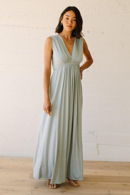 Rachel Pally Long Sleeveless Caftan Dress - Mist