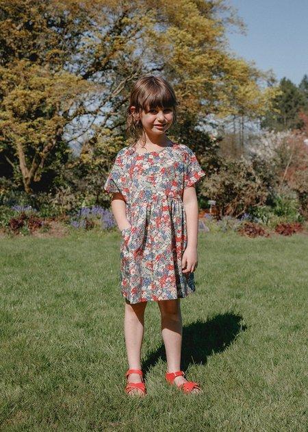 Kids Petits Vilains Marie Everyday Dress - Thorpe Red