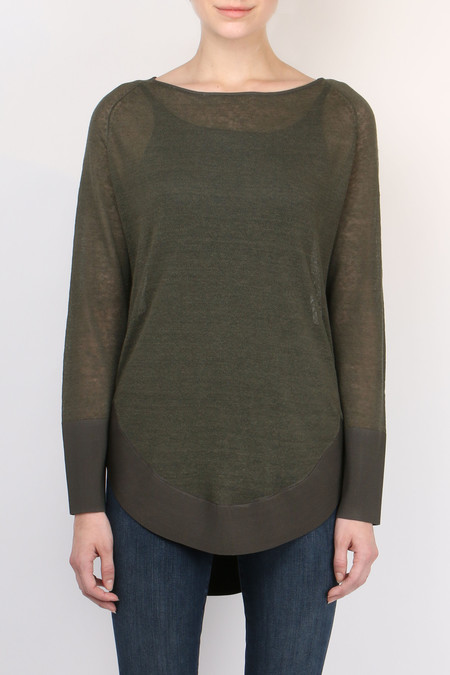 Cathrine Hammel Rounded Sweater
