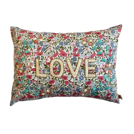 CSAO Embroidered Love Pillow - multi