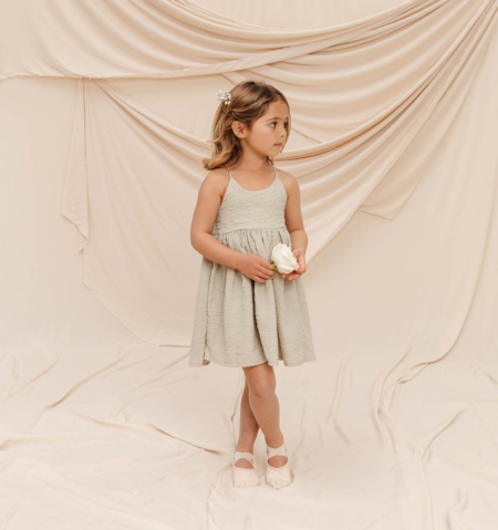 KIDS Noralee Pippa Dress - Sage