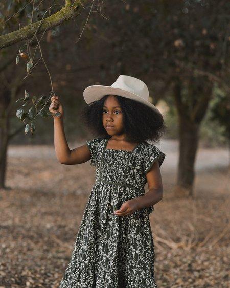 kids Rylee + Cru Vines Madeline Dress - Forest