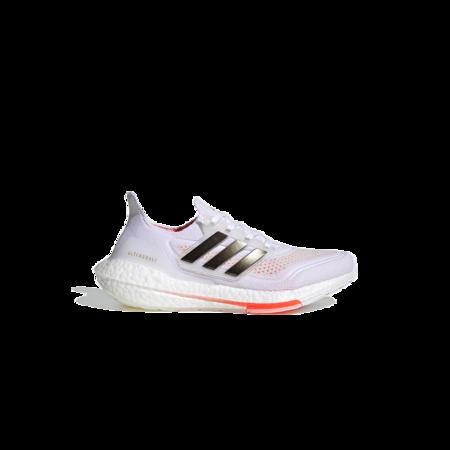 Adidas Ultraboost 21 Tokyo Cloud Sneaker - White/Solar Red