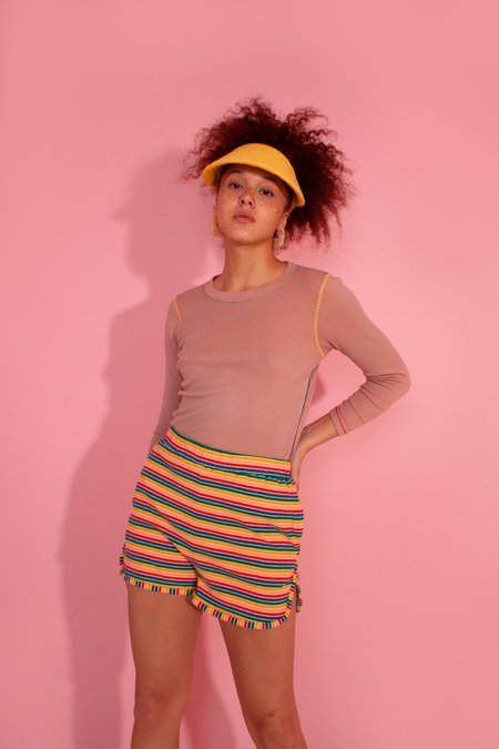 L.F.Markey Ryden Shorts - Multi Stripe