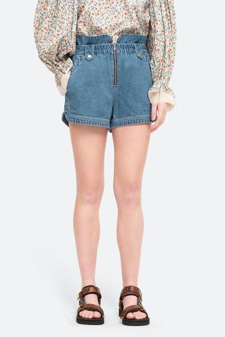 Sea NY Alyssa Shorts - blue