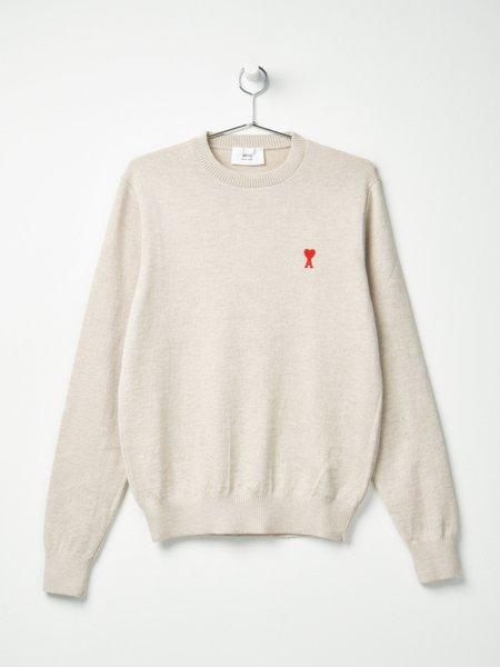 Ami De Coeur Crewneck Sweater - Argile