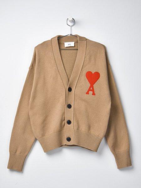 Ami De Coeur Oversize Cardigan - Beige