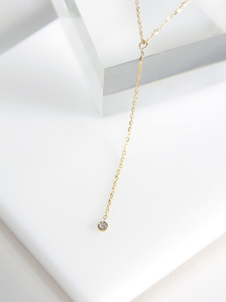 Vale Hanging Diamond Necklace