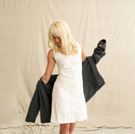 Jungmaven Jumper Dress - Washed White