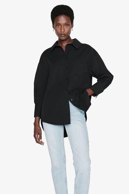 Anine Bing Mika Shirt - Black