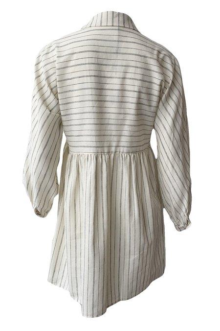 Emerson Fry Selma Long Sleeve Dress - Natural