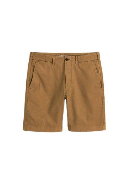 Alex Mill Standard Chino Shorts - Dark Khaki