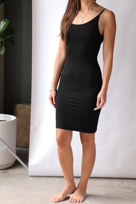 Baserange Slip Dress - Black