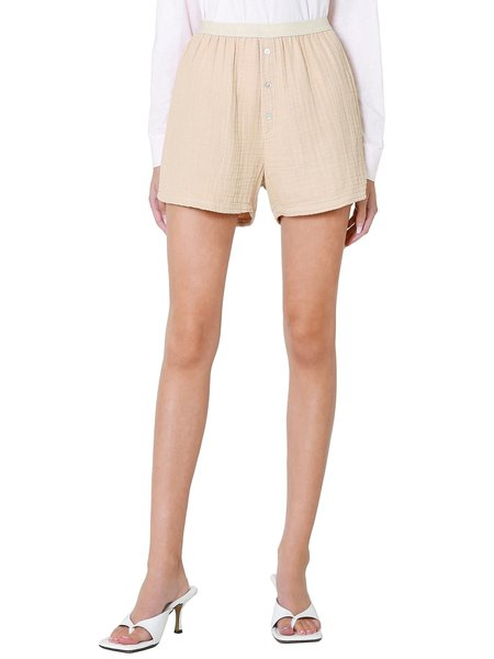 Donni. Bubble Boxer shorts - Latte