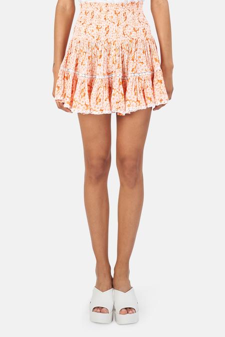 Sunday Saint Tropez Pomponette Skirt - Mandarine