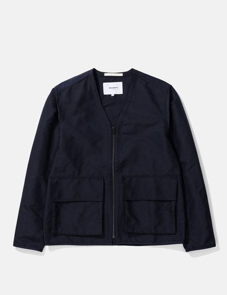 Norse Projects Otto Econyl Jacket - Navy Blue