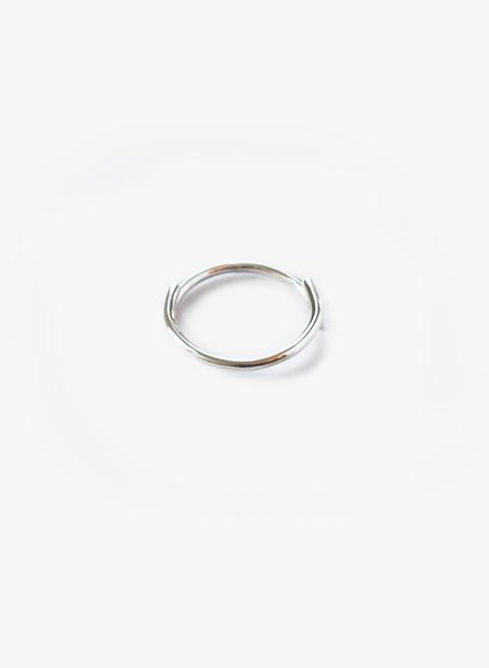 Rachel Gunnard Half and Half Silver Ring