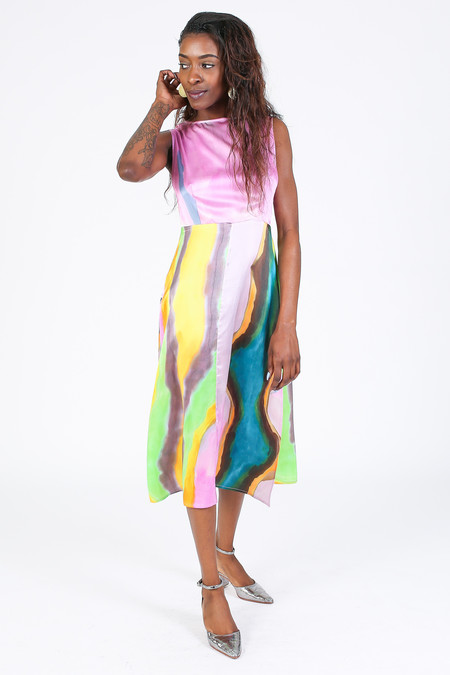 Rachel Comey Lemos Dress in Multi