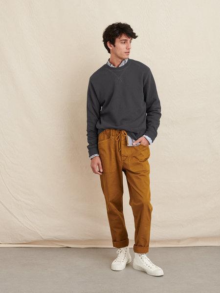 Alex Mill Garment Dyed Crewneck Sweatshirt - Washed Black