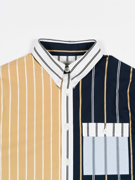 archie Button Down SHIRT - Crazy Stripe