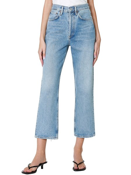 AGOLDE 90's Crop Mid Rise Loose Fit Straight - Replica