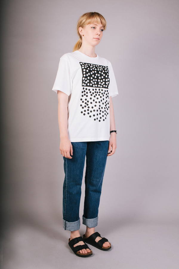 Peter Jensen X Peanuts Scattered Dots T-Shirt