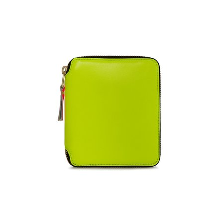 Comme Des Garçons Classic Zip Wallet - Super Fluo/Yellow