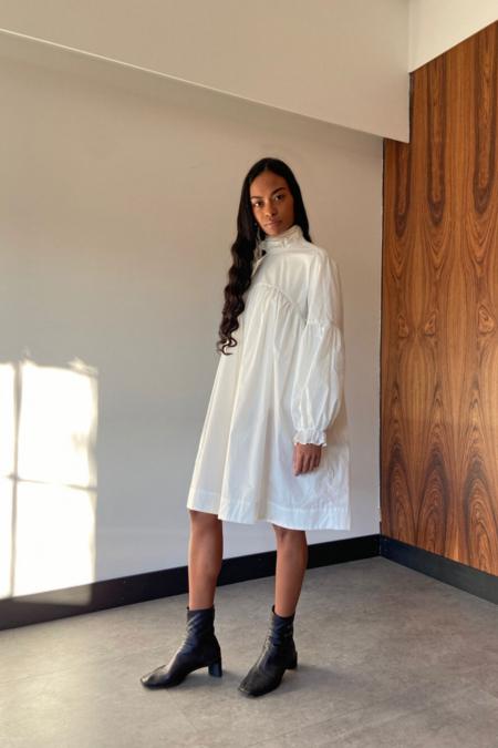 Bronze Age Lia Dress - White