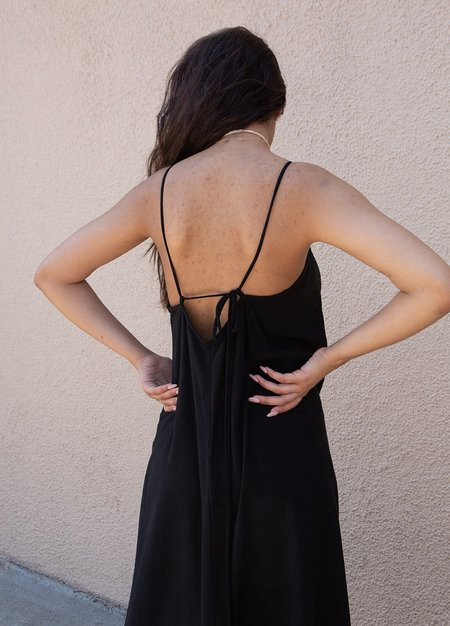 Rachel Pally Linen Zahra Dress - Black