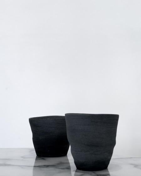 WORK by NONNY BLACK MATTE TUMBLERS