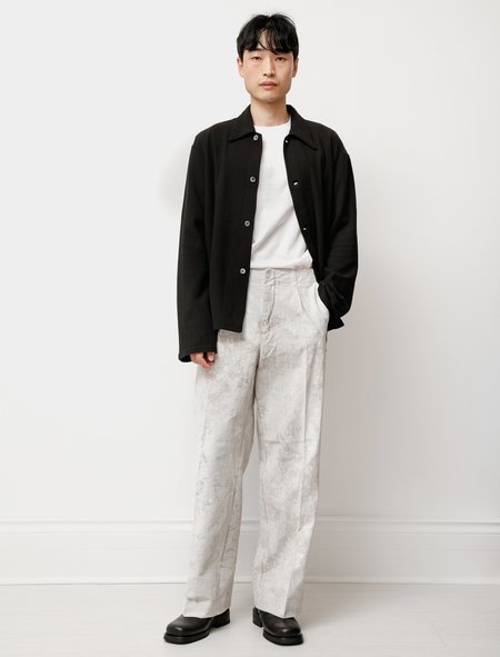 Our Legacy Linen Borrowed Chino - Coated White