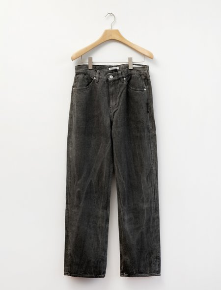 Our Legacy Linen Formal Cut Jeans - Coated Grey