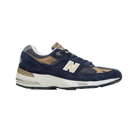 New Balance 991 Shoes - Navy