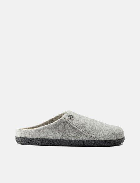 Birkenstock Zermatt Slipper Narrow Sandals - Light Grey