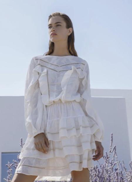 Devotion Nice Dress - Ecru