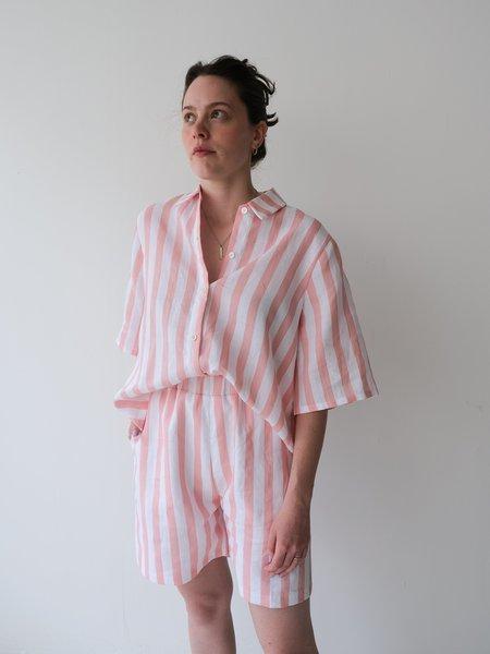 Odeyalo MANDY + PARLOUR Pink Stripes Duo - Pink