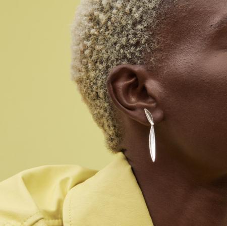 Jenny Bird Studio Drop Earring - Silver