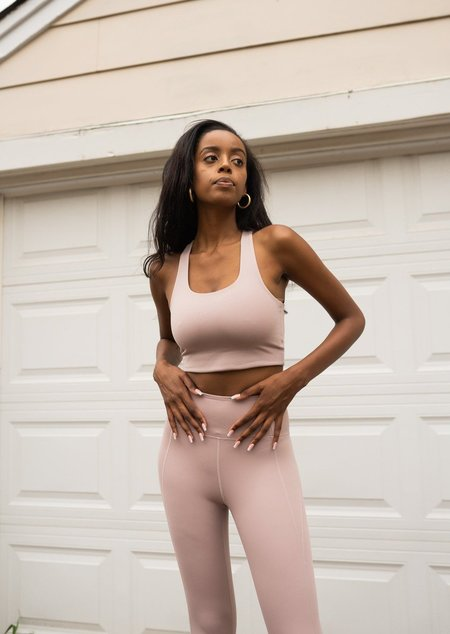 Girlfriend Collective Compressive High-Rise Legging - Quartz