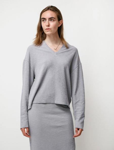 Our Legacy V Jumper sweater - Sulphur Blue