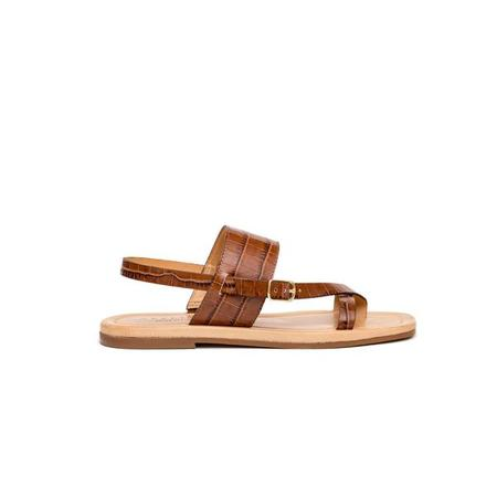 Ateliers Fisher Sandals - Tan Croc