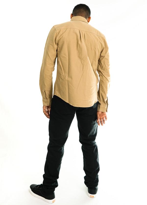 Men's Native Youth Covert Shirt - Sand