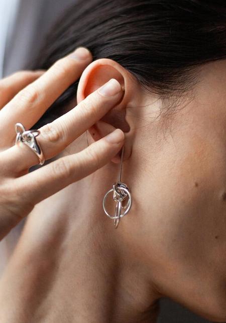 Quarry Saen Earrings - Sterling Silver