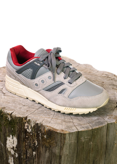"Saucony GRID SD ""Boston Public Gardens"" (Grey)"